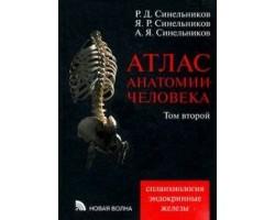 Атлас анатомии человека. Учебное пособие. В 4-х томах. Том 2. Учение о внутренностях и эндокринных ж