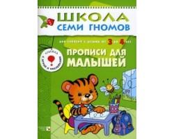 ШСГ Четвертый год обучения. Прописи для малышей.